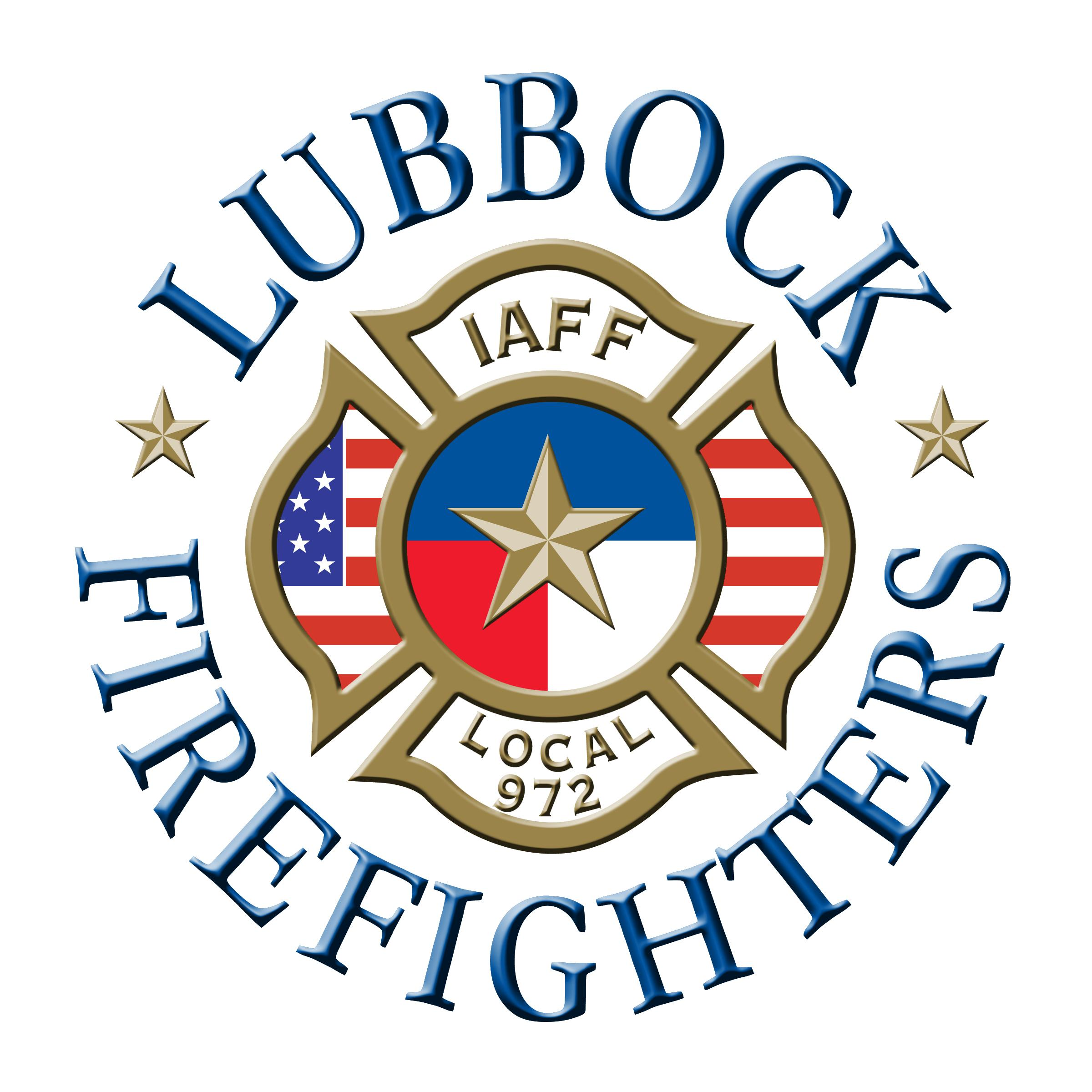 Lubbock Firefighters Logo