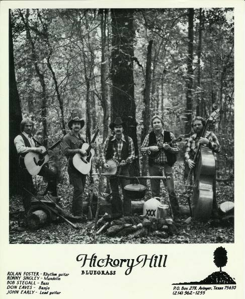 Hickory Hill Promo Pic - 1981