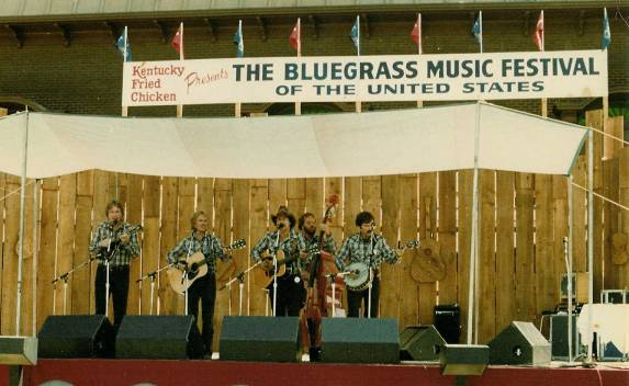 Hickory Hill at Bluegrass Festival of the U.S. sponored by KFC